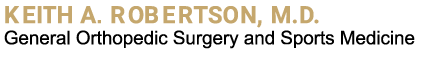 Keith Robertson, MD Logo